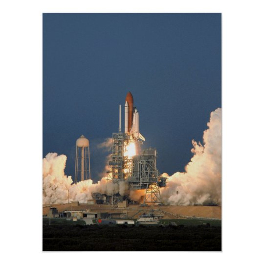 Space Shuttle Endeavour (STS-118) Poster