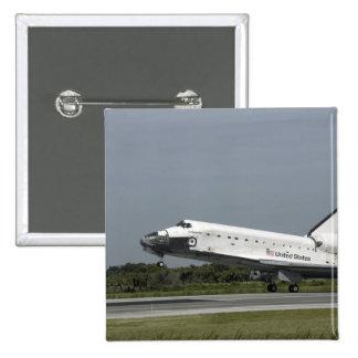 Space Shuttle Endeavour touches down Button