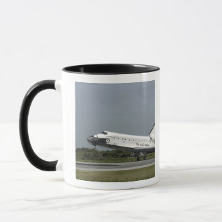 Space Shuttle Endeavour touches down Mug