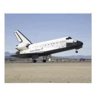 Space Shuttle Endeavour's main landing gear Photo Print