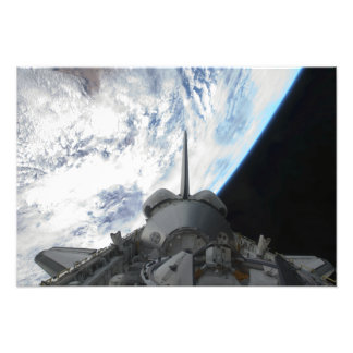 Space Shuttle Endeavour's payload bay 2 Photo Print