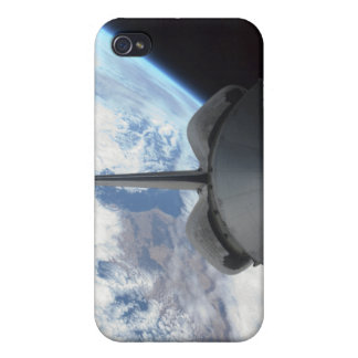 Space Shuttle Endeavour's payload bay 3 Cover For iPhone 4