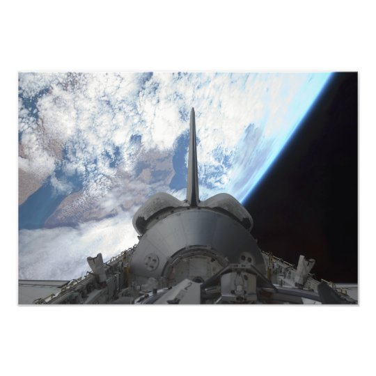 Space Shuttle Endeavour's payload bay 3 Photo Print