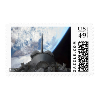 Space Shuttle Endeavour's payload bay 3 Postage