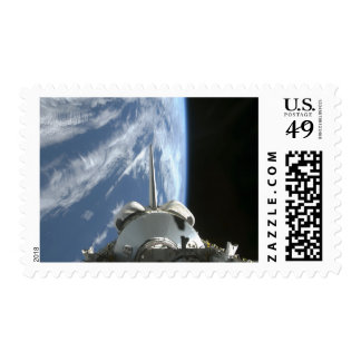 Space Shuttle Endeavour's payload bay Postage
