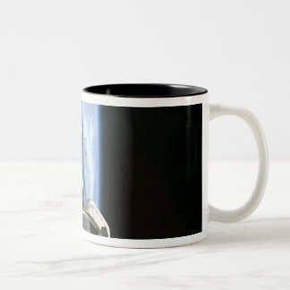 Space Shuttle Endeavour's payload bay Two-Tone Coffee Mug