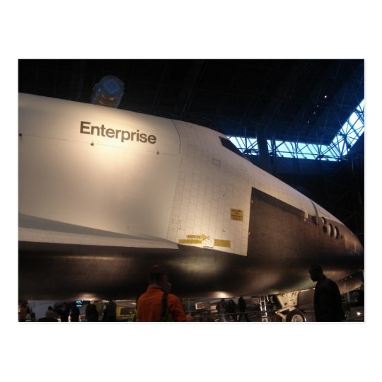 Space Shuttle Enterprise Postcard