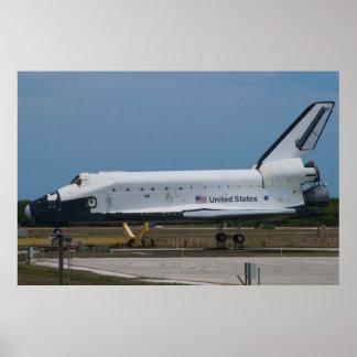 Space Shuttle Explorer Poster