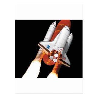 space shuttle - final flight postcard