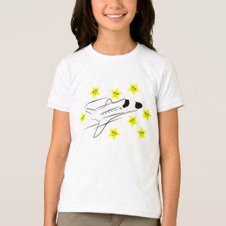 Space Shuttle Girls Ringer T-Shirt