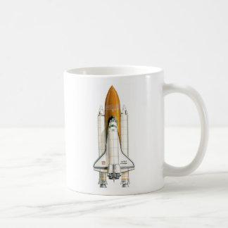 Space Shuttle I, Space Shuttle II Classic White Coffee Mug