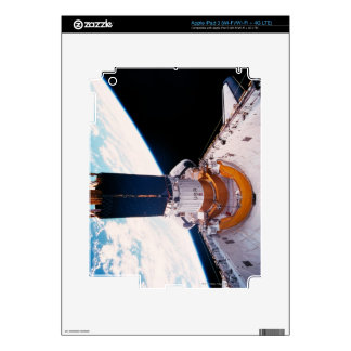 Space Shuttle in Orbit 2 Decal For iPad 3