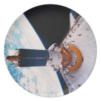 Space Shuttle in Orbit 2 Melamine Plate