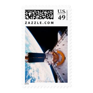 Space Shuttle in Orbit 2 Postage