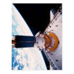 Space Shuttle in Orbit 2 Postcard