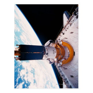 Space Shuttle in Orbit 2 Postcard