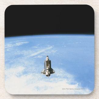 Space Shuttle in Orbit 3 Drink Coaster