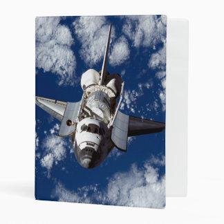 Space Shuttle In Orbit Mini Binder