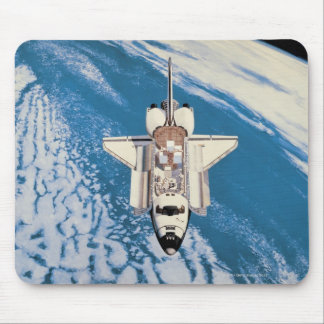 Space Shuttle in Orbit Mouse Pad