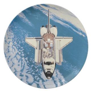 Space Shuttle in Orbit Party Plate