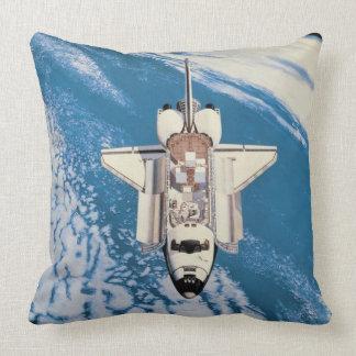 Space Shuttle in Orbit Pillow