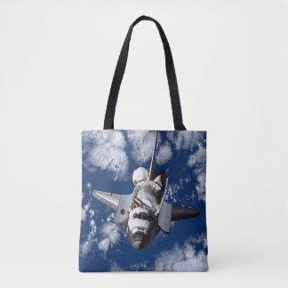 Space Shuttle In Orbit Tote Bag