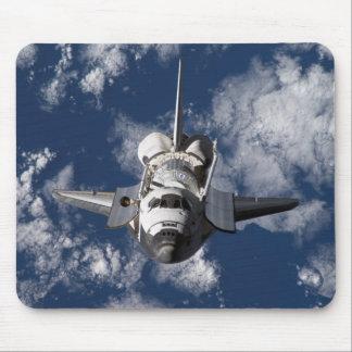Space Shuttle in Orbiting Earth Mousepad
