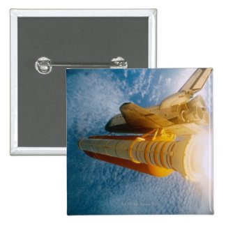 Space Shuttle in Space 2 Button