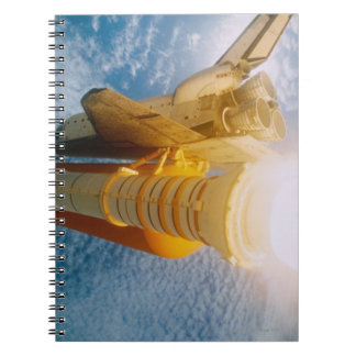 Space Shuttle in Space 2 Notebook