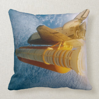 Space Shuttle in Space 2 Pillow