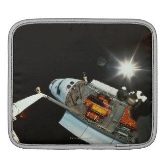 Space Shuttle in Space iPad Sleeve