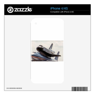 space shuttle iPhone 4S decals