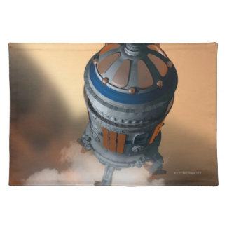 Space Shuttle Landing 4 Cloth Placemat