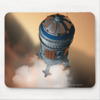 Space Shuttle Landing 4 Mouse Pads
