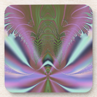 Space Shuttle Launch Abstract Beverage Coaster