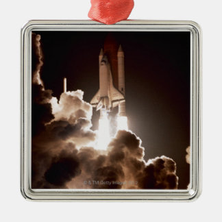 Space shuttle launch christmas tree ornaments