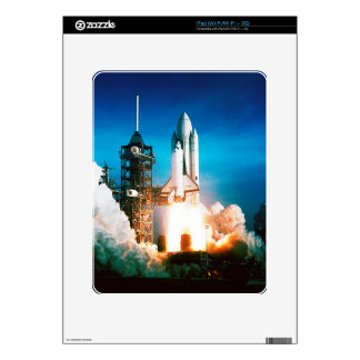 SPACE SHUTTLE LAUNCH DECALS FOR iPad