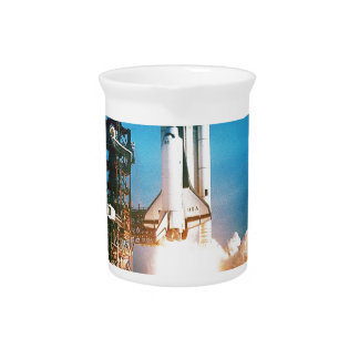 SPACE SHUTTLE LAUNCH DRINK PITCHERS