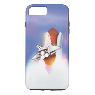 Space Shuttle Launch into space iPhone 7 Plus Case