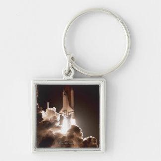 Space shuttle launch keychain