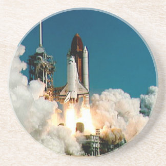 SPACE SHUTTLE LAUNCH - NASA ROCKET PHOTO COASTER