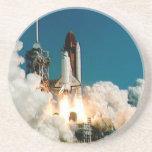 SPACE SHUTTLE LAUNCH - NASA ROCKET PHOTO COASTERS