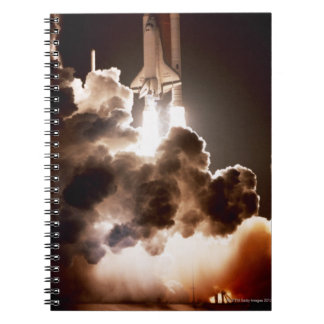 Space shuttle launch note books