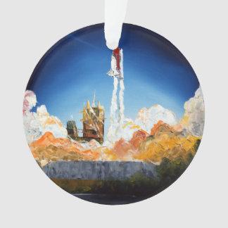 Space Shuttle Launch Ornament