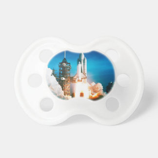 SPACE SHUTTLE LAUNCH PACIFIER