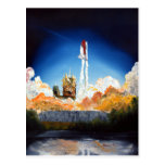Space Shuttle Launch Postcards