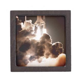 Space shuttle launch premium trinket boxes