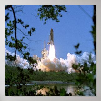 Space Shuttle Launch Print
