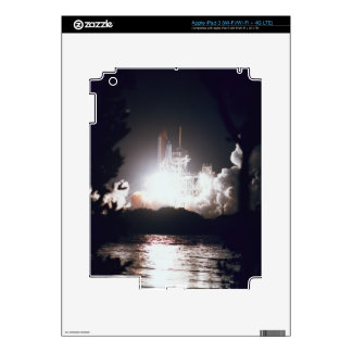 Space Shuttle Launch Skin For iPad 3