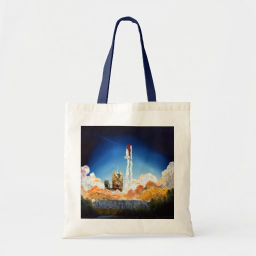 Space Shuttle Launch Tote Bag